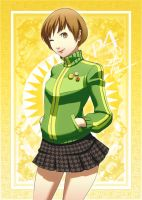 Chie Satonaka - The Chariot Arcana by polarityplus