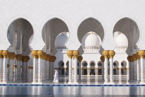 Sheikh Zayed Mosque, Abu Dhabi by IceHand84