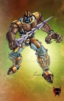 BW Dinobot by Dan-the-artguy