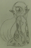 Slightly Pudgy Midna by PuccaFanGirl