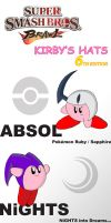 SSBB: Kirby's Hats Ed. 6 by TriforceJ
