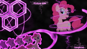 [Hexagon Series] - Pinkie Pie 1920x1080 by forgotten5p1rit