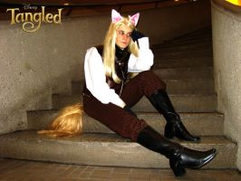 Tangled: Thinking About Flynn Rider by The-Sexy-Roxas