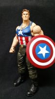 Ultimate Captain America upgrade complete view by efrece
