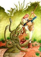 Callista and the Hydra by ShiroRyu927