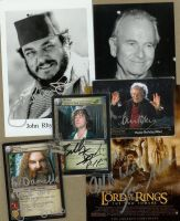 LotR autographs by Smithy9