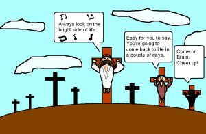 Life Of Brian and Jesus by Babclayman