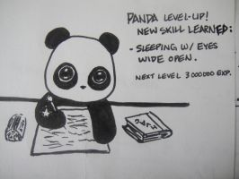 Panda Level Up by MelodicInterval