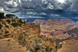 grand canyon hdr by jeffreyhing
