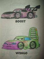 Boost and Wingo by Evzoozer64