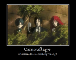 Camouflage- Sebastian does it wrong by Celinefull