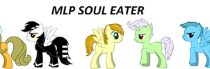 MLP FIM SOUL EATER by Puffypaw