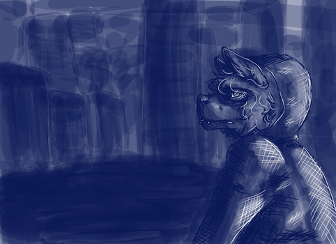 .:Blue City:. by wolftales1