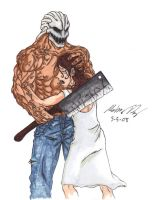 Splatterhouse Color by gaetano125