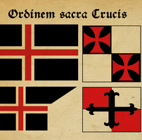 Standards for Order of the Sacred Cross by otakumilitia