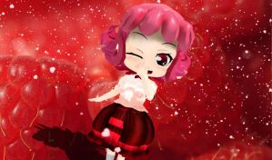 .: The Raspberry Fairy :. by EpiclyAwesomePrussia