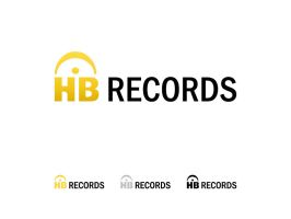 Logo - HB Records by pezbananadesign