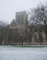 YORK MINSTER - SNOW - 2009 by carlos62