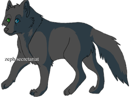 CS: secretariat Wolf Example by RBSRdesigns