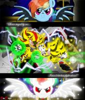 Com: Sonic Shadow Rainbow Dash - Chaos Ascension by BroDogz