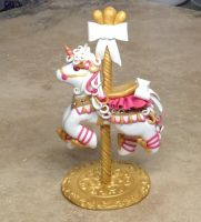 Carousel unicorn view 2 by ArtisanAlley