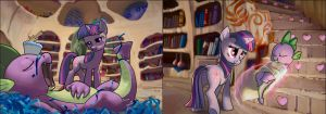 diptych by theinexplicablebrony