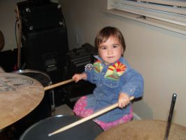 Keira wants a set of drums by nerdkink