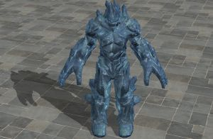'TES4: Oblivion' Frost Atronach XPS ONLY!!! by lezisell