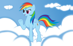 Rainbow Dash - Now 20 Percent Cooler by Milante