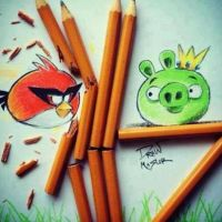 Angry Birds by LauryW