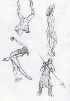 Various Poses 7 by existtraiesc