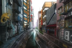 Tokyo Street by D-dy