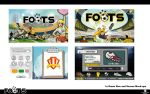 Foots Social Game by vtishimura