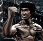 Bruce Lee by SkyFinch