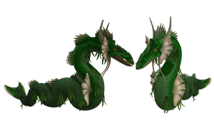 SPORE creature: Swamp Leviathan by DinoRevolver