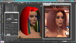 Scarlett Rose: Hair Farm Test 01 by grico316