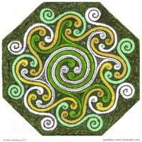 Octet Celtic Mandala by Quaddles-Roost