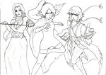 Bleach - Rangiku and Yoruichi and Soifon by Katong999
