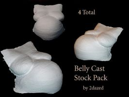 Belly Cast 4 by STOCKher
