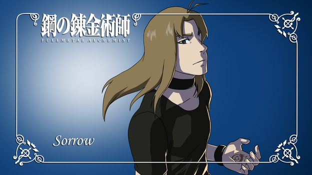 FMA OC sheet: Sorrow by Riiko96