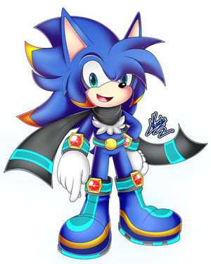 (AT) .:Jolt The Hedgehog:. by MimiGuerrero