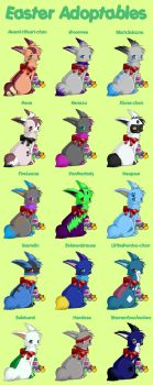 Easter Adopts by Teddy33