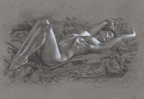 Exquisite Beauty - Nude by JeffLafferty