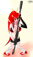 Yoko: Love My Gun by Urban-Centre