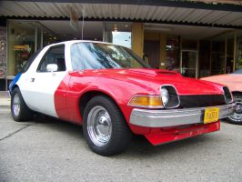 Red White and Blue Pacer 2 by PhotoDrive
