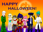 Fossil Fighters Halloween by MagmaRed