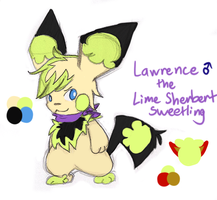 Lawrence the Lime Sherbert Sweetling by SkittyKittyCat