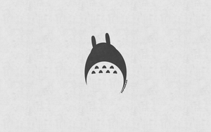 Minimal Totoro by HollywoodSaint