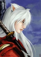 Inuyasha by Xergille