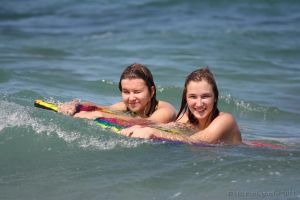 Beach Day - Angie and Beki by EBIPhotography
